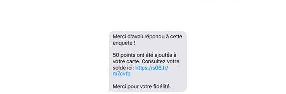 Remercier ses clients par SMS