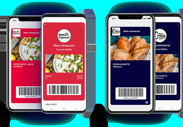 Wallet Apple et Google Pay intégrés à ZEROSIX