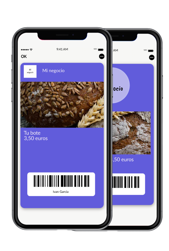 Tarjeta de fidelidad desmaterializada en Apple Wallet iphone